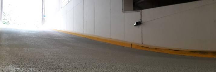 Hellingsbaan – inrit antislip maken