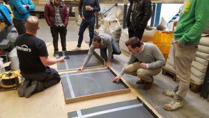 Opleiding kunstharsen voor kunststof vloeren.