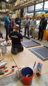 Kunsthars opleiding: hoe maak je een kunstharsvloer.